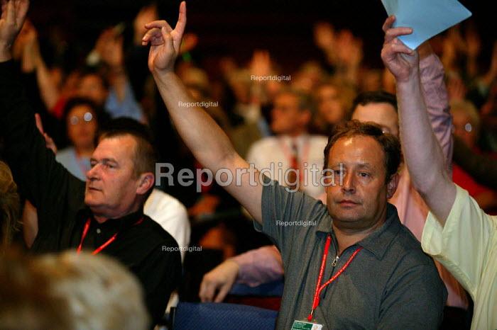 Labour Party conference 2003 - John Harris - 2003-10-01