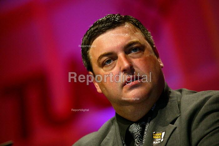 Mick Rix ASLEF speaking at TUC Congress 2003 - John Harris - 2003-09-10