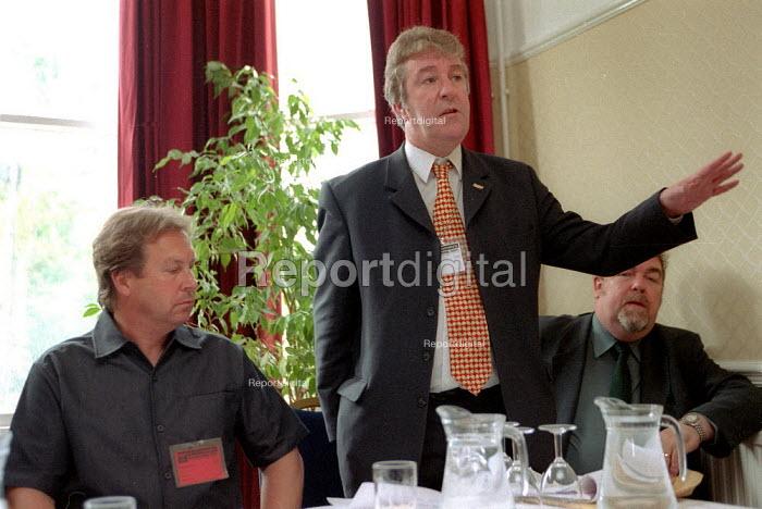 Terry Pye MSF conference 2001 - John Harris - 2001-06-28