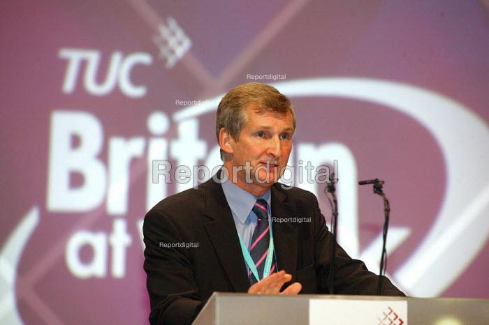 Paul Talbot TUC Congress 2006 - John Harris - 2006-09-11