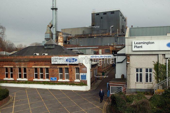 The Ford foundry Leamington Spa which the company says will close with the loss of 400 jobs - production will move to Eastern Europe. - John Harris - 2007-03-30