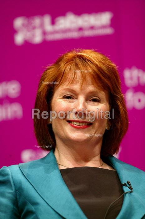 Deputy leadership candidate Hazel Blears at the hustings. Coventry. - John Harris - 2007-05-21