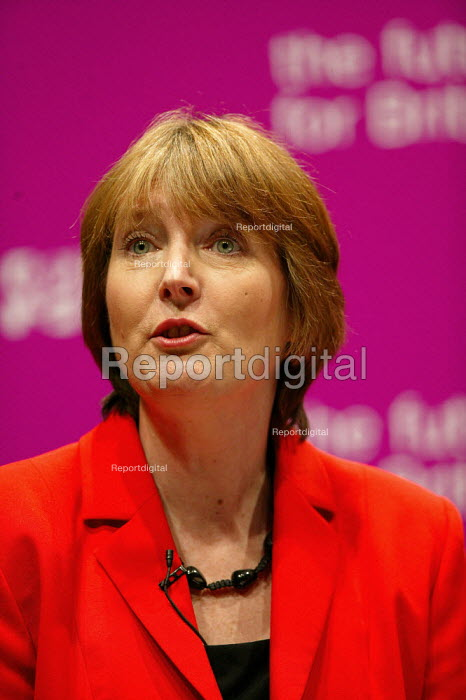 Deputy leadership candidate Harriet Harman at the hustings. Coventry. - John Harris - 2007-05-21