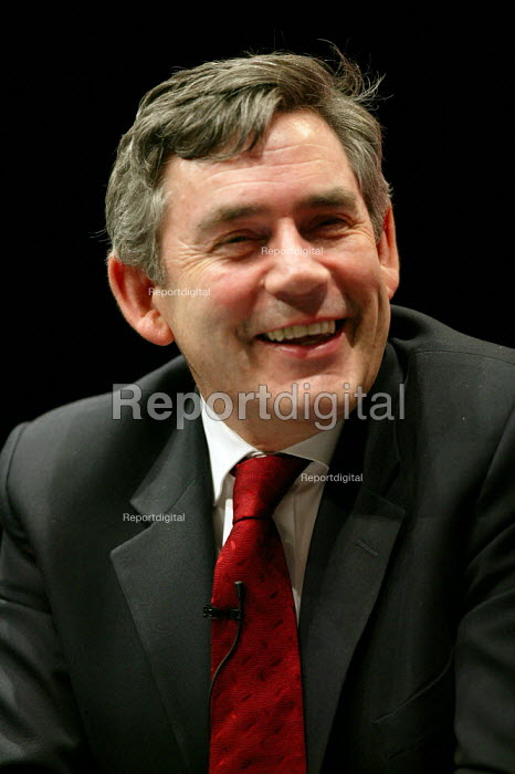 Gordon Brown speaking at the Labour leadership hustings - John Harris - 2007-05-21
