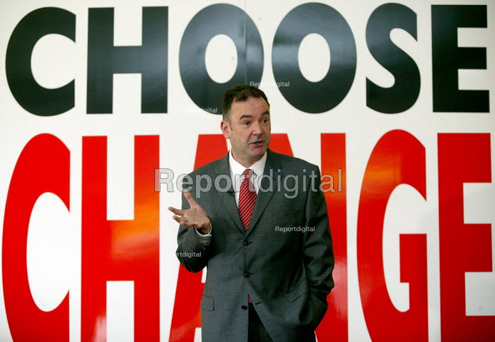 Jon Cruddas MP Deputy leadership campaign launch, Wednesbury, West Midlands. - John Harris - 2007-05-22