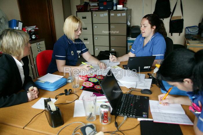 District Nursing Service, Halesowen Health Centre. - John Harris - 2007-06-25