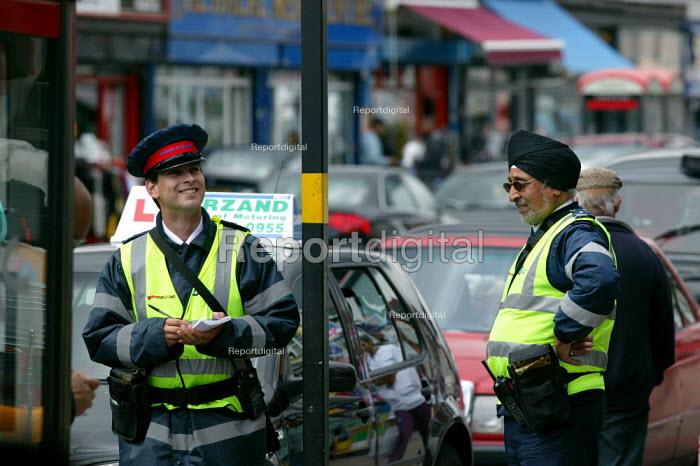 Parking attendant and deputy supervisor on the streets of Birmingham - John Harris - 2007-06-25