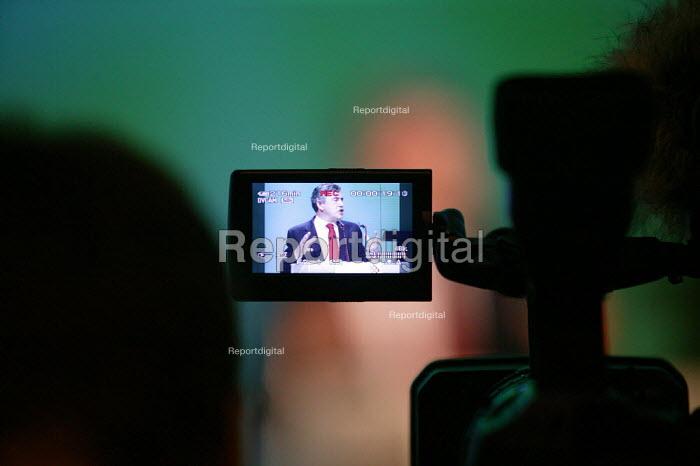 Gordon Brown addressing TUC Conference 2007 - John Harris - 2007-09-10