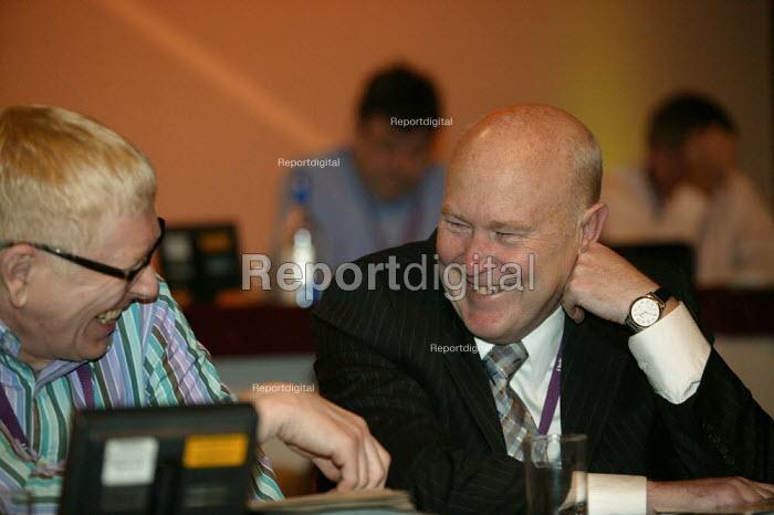Jonathan Baume FDA and Paul Noon Prospect TUC Conference 2007 - John Harris - 2007-09-12