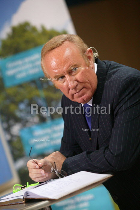 BBC Broadcaster Andrew Neil Conservative Party Conference Blackpool - John Harris - 2007-10-03