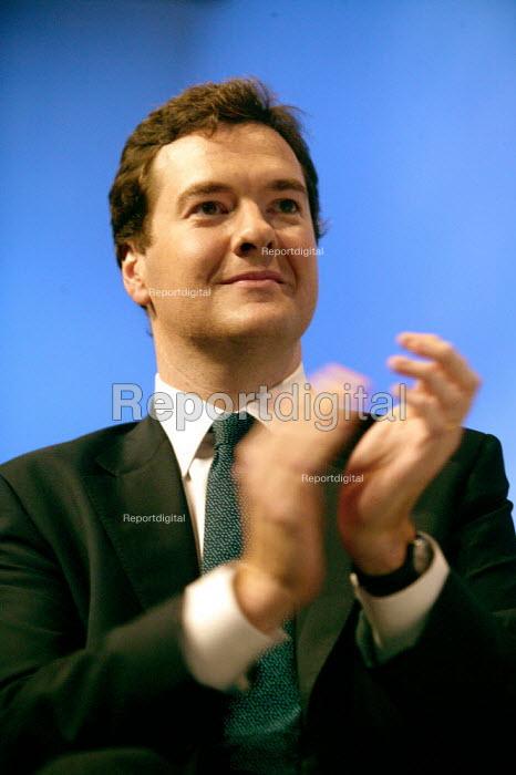 George Osborne MP Conservative Party Conference Blackpool - John Harris - 2007-10-03
