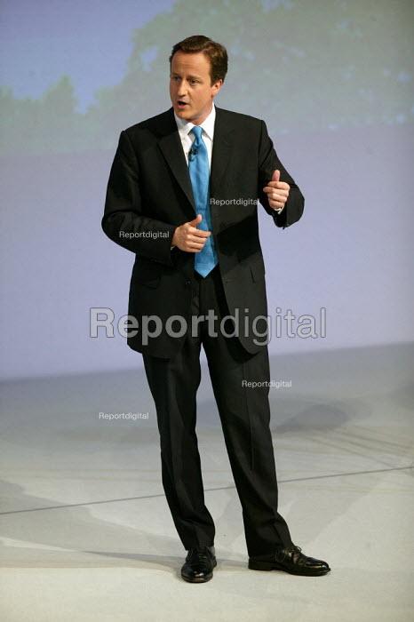 David Cameron addressing Conservative Party Conference Blackpool - John Harris - 2007-10-03
