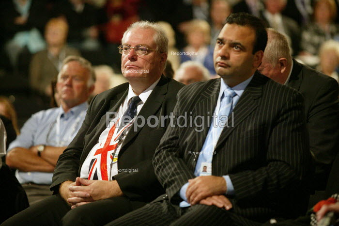 Delegates listening Conservative Party Conference Blackpool - John Harris - 2007-10-03