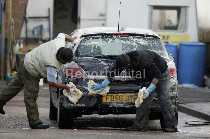 Hand car wash in West Bromwich - John Harris - 2008-02-20