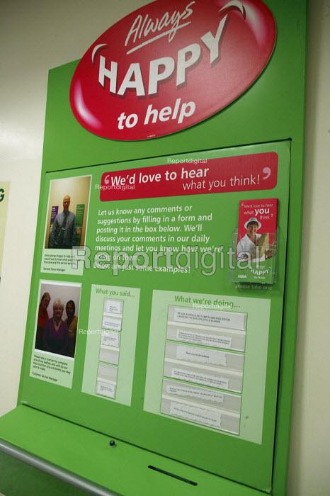 ASDA supermarket, Always Happy to Help - John Harris - 2008-03-12