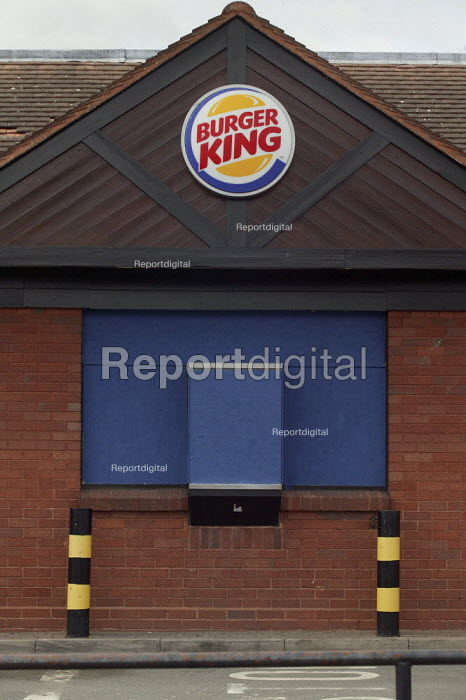 Closed Burger King fast food restaurant - John Harris - 2008-03-19