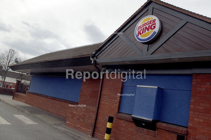 Closed Burger King fast food restaurant - John Harris - 2008-03-19