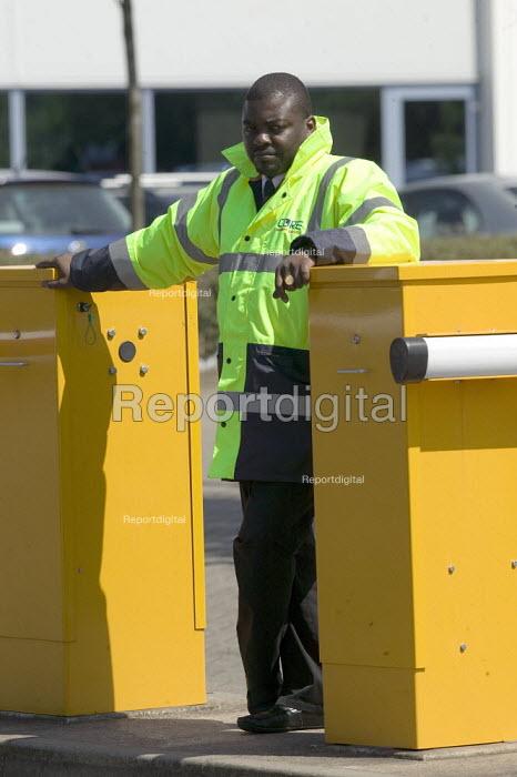 Security guard at the gate. - John Harris - 2008-05-14