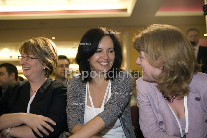 Caroline Flint MP and Ruth Kelly MP Labour Party National Policy Forum, Warwick. - John Harris - 2008-07-25