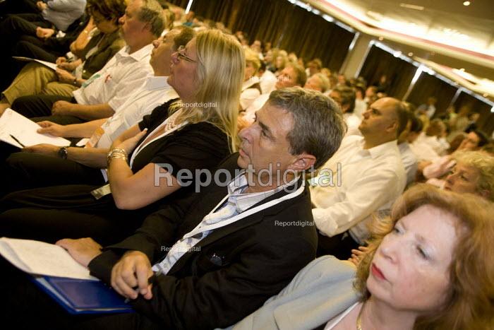 Dave Prentis Unison, Labour Party National Policy Forum, Warwick. - John Harris - 2008-07-25