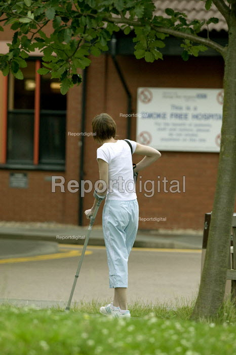Outpatient. George Eliot Hospital Nuneaton - John Harris - 2008-07-18