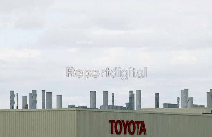 Toyota car factory, Burnaston, Derbyshire - John Harris - 2008-07-08