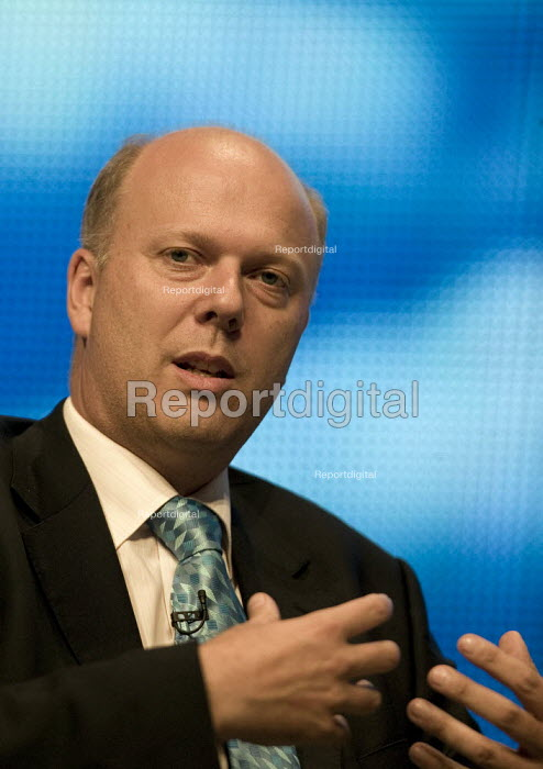 Chris Grayling MP speaking Conservative Party Conference 2008 Birmingham. - John Harris - 2008-09-28