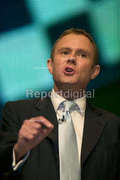 Nick Herbert MP speaking Conservative Party Conference 2008 Birmingham. - John Harris - 2008-09-30