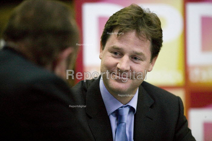 Nick Clegg MP, Liberal Democrat Conference. - John Harris - 2008-09-15