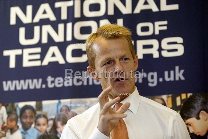 David Laws MP, NUT fringe meeting Liberal Democrat Conference. - John Harris - 2008-09-15
