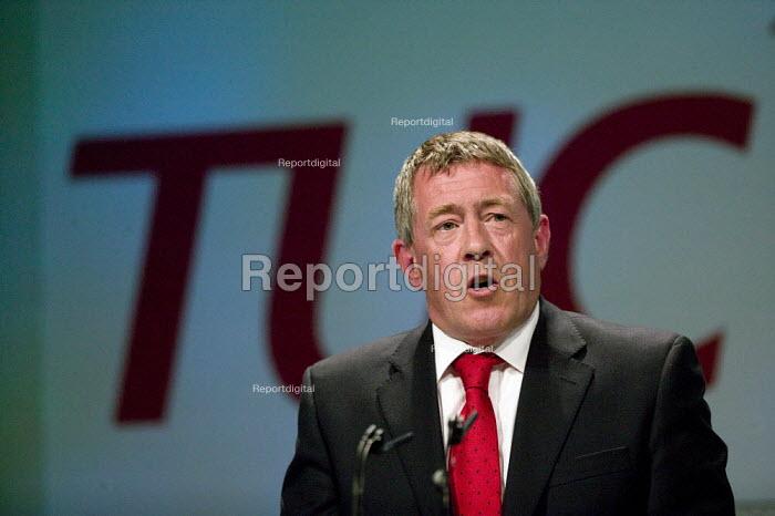 John Denham MP, TUC Congress 2008 - John Harris - 2008-09-09