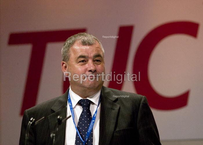 Brendan Barber TUC, TUC Congress 2008 - John Harris - 2008-09-09