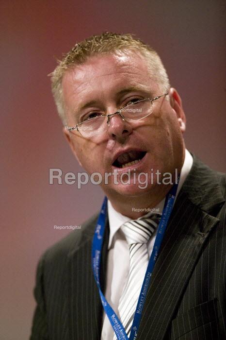 Ian Lavery NUM, TUC Congress 2008 - John Harris - 2008-09-09