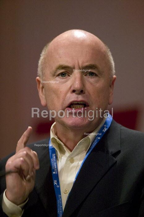 Jack Dromey Unite, TUC Congress 2008 - John Harris - 2008-09-09