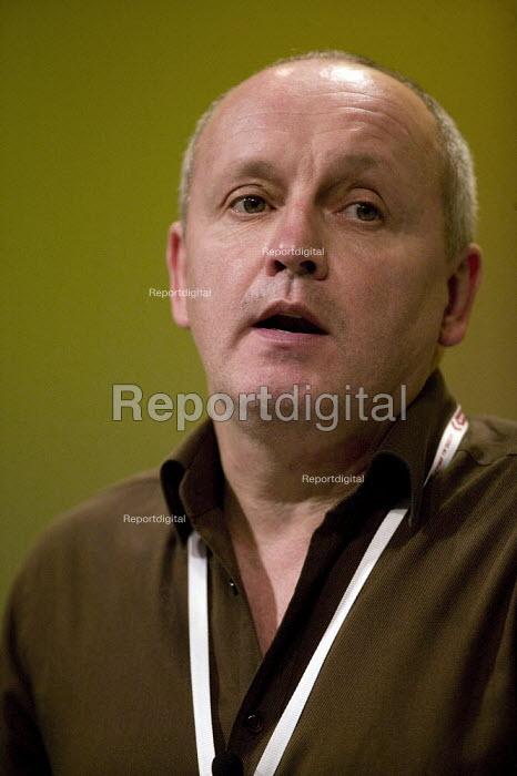 Tony Kearns CWU TUC Congress 2008 - John Harris - 2008-09-10