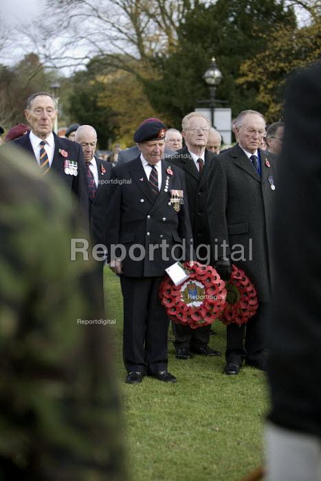 Remembrance day, Stratford-upon-Avon, Warwickshire. - John Harris - 2008-11-09