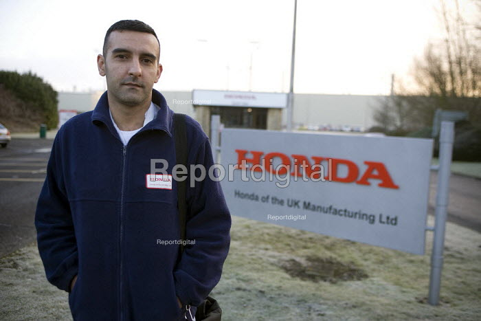 Chanda Singh, Unite, Honda Swindon The Japanese car maker will put production on hold until June. The 3,000 workers at the factory will only receive half pay during the layoff during April and May. - John Harris - 2009-01-27