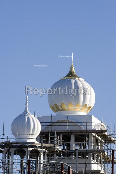 Gurdwara Sahib Temple under construction, Leamington Spa. - John Harris - 2009-03-09