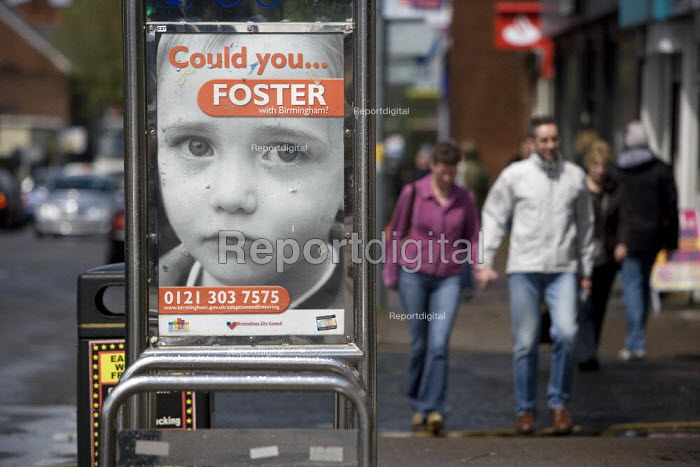 Could you foster? Advertisement for Birmingham City Council Adoption and Fostering Service, Birmingham - John Harris - 2009-05-16