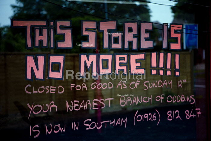 This store is no more! Closed down off licence, Stratford on Avon. - John Harris - 2009-03-27