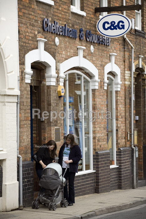 Cheltenham and Gloucester Building Society branch, Stratford on Avon. - John Harris - 2009-06-07