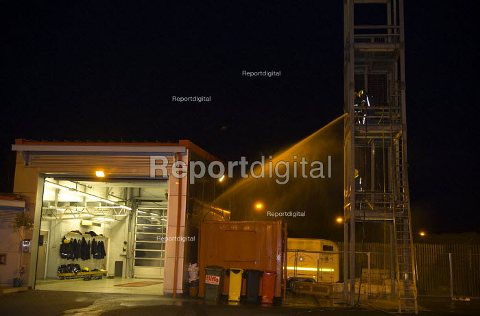 Retained firefighters, Wellsbourne Fire station, Warwickshire - John Harris - 2009-09-15