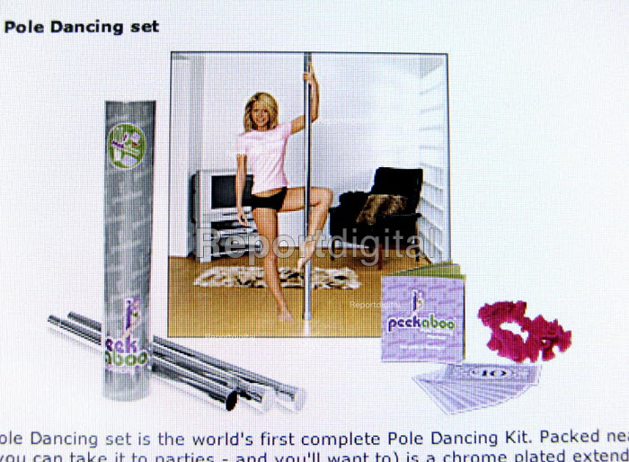 An internet site offering Pole dancing set for young girls. - John Harris - 2010-03-13