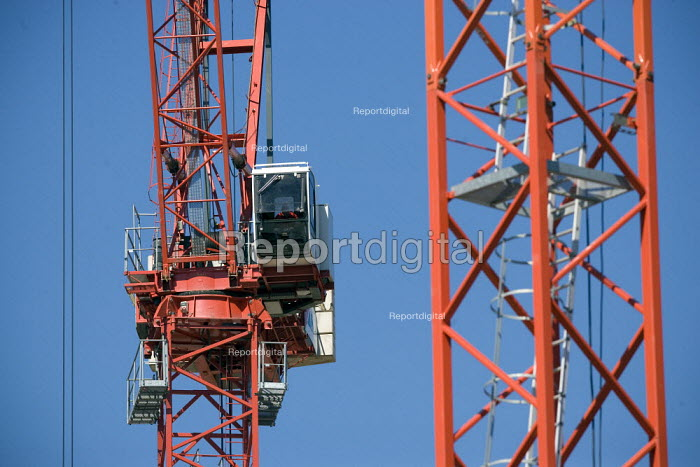 A construction site in Coventry. - John Harris - 2010-06-03
