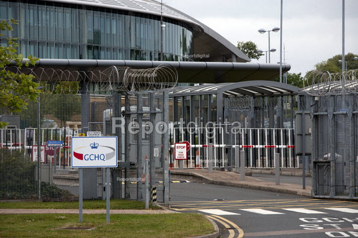 Government Communications Headquarters (GCHQ), Cheltenham, Gloucestershire. The UK Intelligence Agency intended to gather information on international terrorism and serious organised crime. - John Harris - 2013-07-01