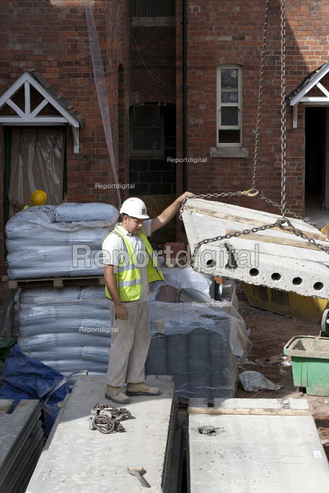 Building site, Warwickshire - John Harris - 2013-08-21