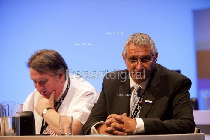 Eddie Saville Gen Sec HCSA, TUC, Bournemouth 2013 - John Harris - 2013-09-11