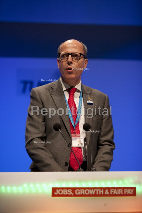 Richard Evans SOR, TUC, Bournemouth 2013 - John Harris - 2013-09-11
