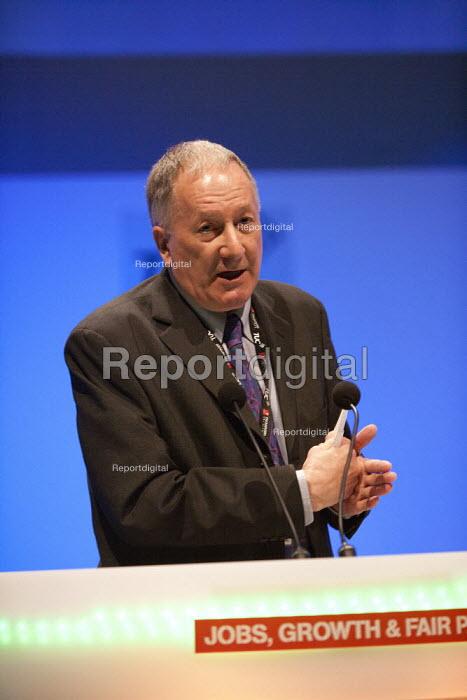 Peter Cox, BECTU, TUC, Bournemouth 2013 - John Harris - 2013-09-10