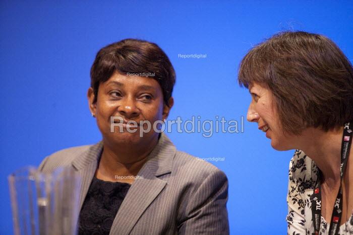 Doreen Lawrence and Frances O'Grady Gen Sec TUC, Bournemouth 2013 - John Harris - 2013-09-11